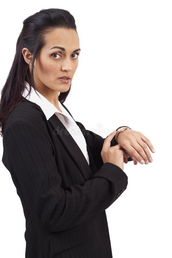 όμορφη επιχειρηματίας brunette στοκ φωτογραφίες με δικαίωμα ελεύθερης χρήσης