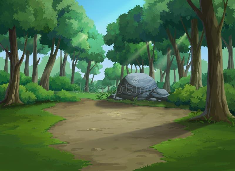 Όμορφη ζούγκλα άποψης άφθονη στοκ εικόνες με δικαίωμα ελεύθερης χρήσης