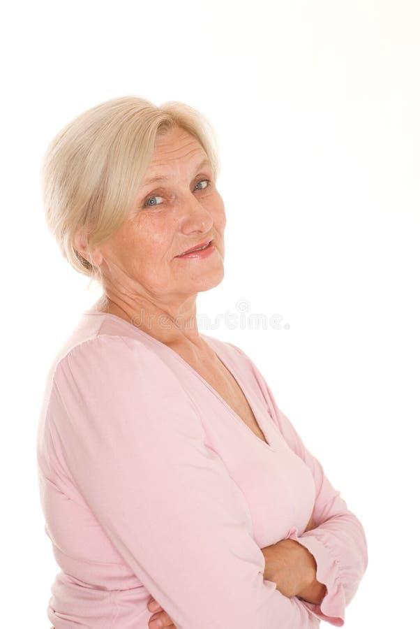 Όμορφη ηλικιωμένη γυναίκα στοκ φωτογραφία με δικαίωμα ελεύθερης χρήσης
