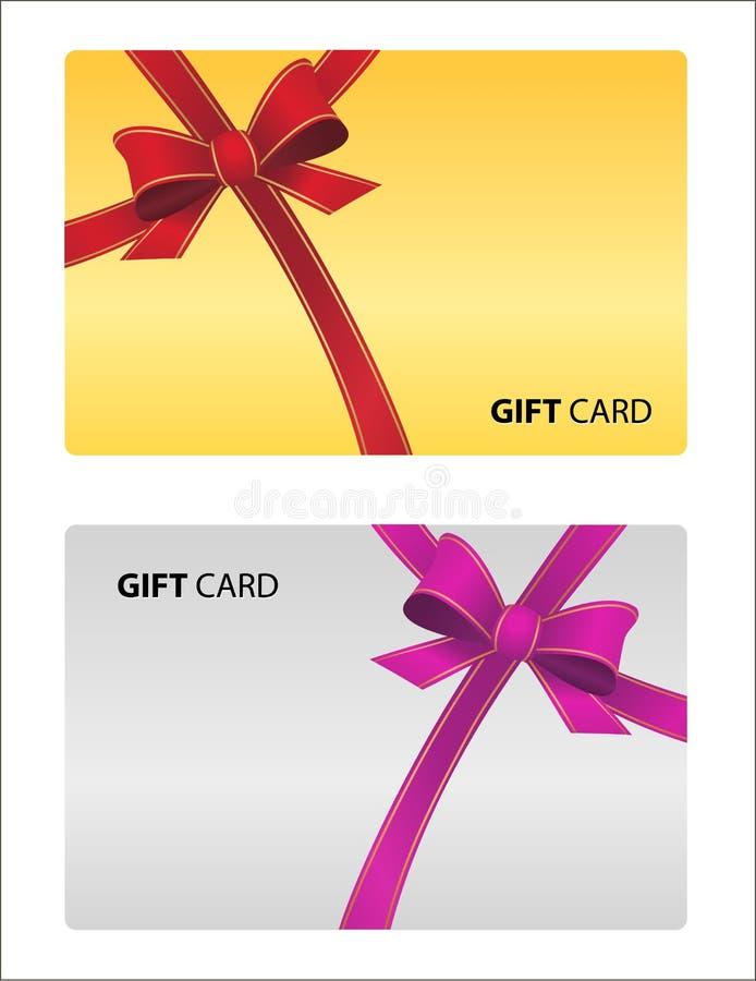 Όμορφη κάρτα δώρων που απομονώνεται διανυσματική επαγγελματική κάρτα χρυσή και s ελεύθερη απεικόνιση δικαιώματος