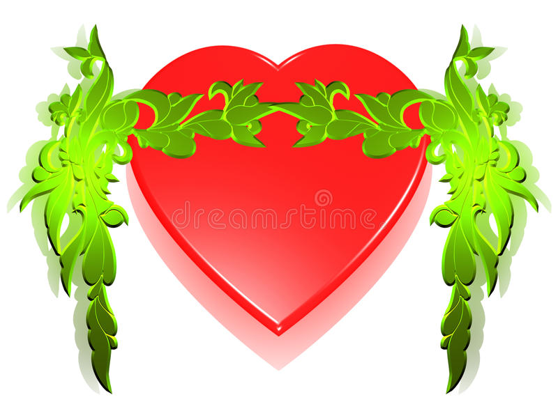 όμορφη καρδιά απεικόνιση αποθεμάτων