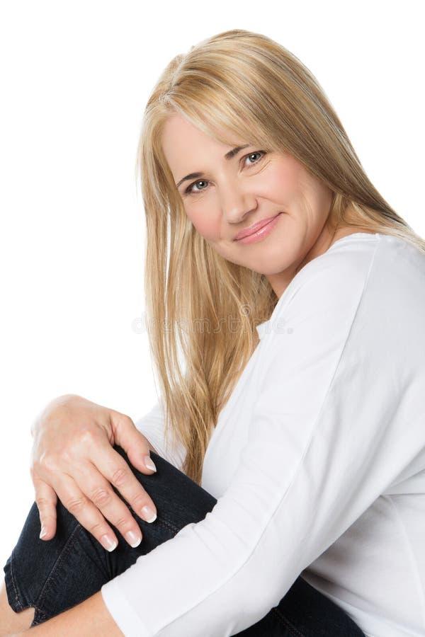 Όμορφη καυκάσια γυναίκα στοκ εικόνα με δικαίωμα ελεύθερης χρήσης