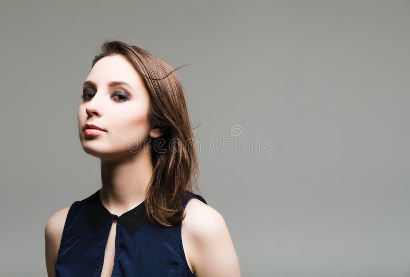 όμορφη καυκάσια γυναίκα στοκ φωτογραφία