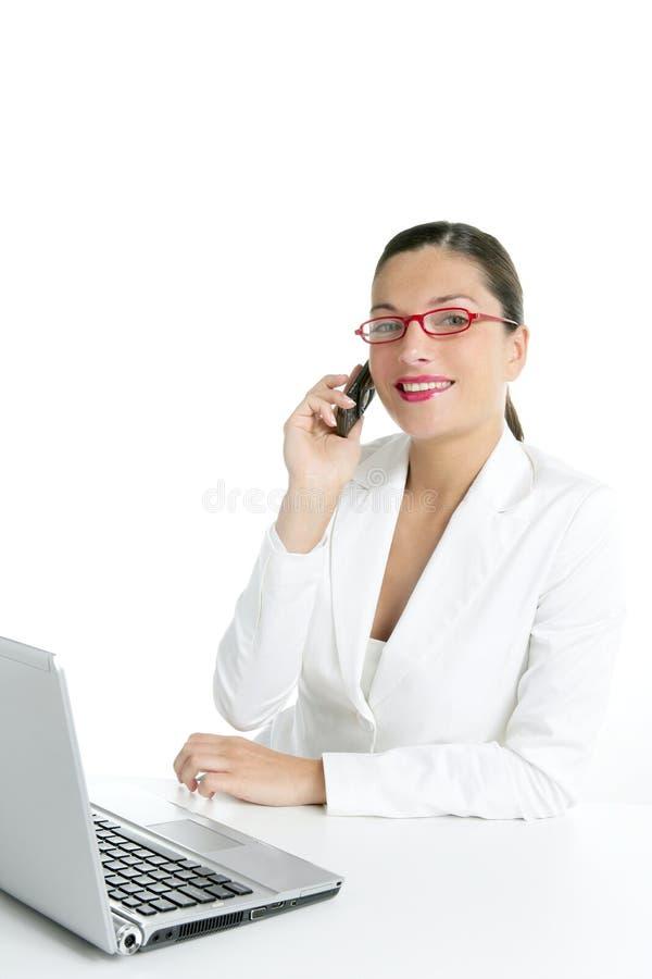 όμορφη κινητή τηλεφωνική ομ στοκ εικόνες με δικαίωμα ελεύθερης χρήσης