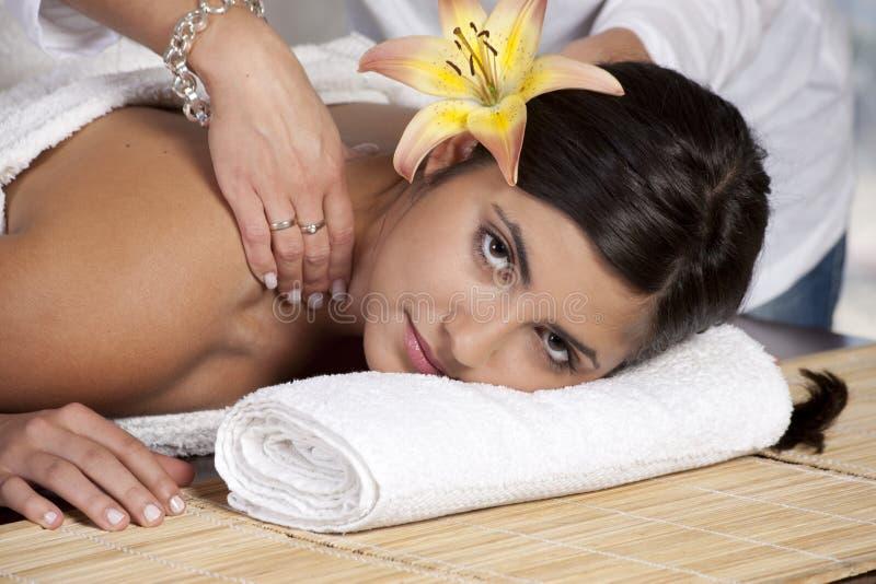 όμορφη κυρία salon spa στοκ φωτογραφία με δικαίωμα ελεύθερης χρήσης