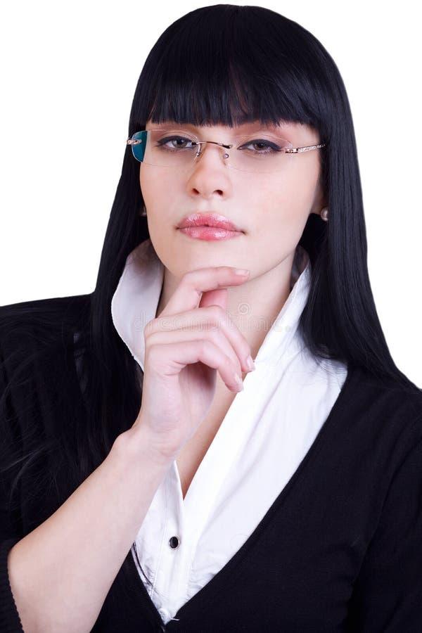 Download όμορφη λευκή γυναίκα επι&ch Στοκ Εικόνες - εικόνα από κοστούμι, σακάκι: 17053232