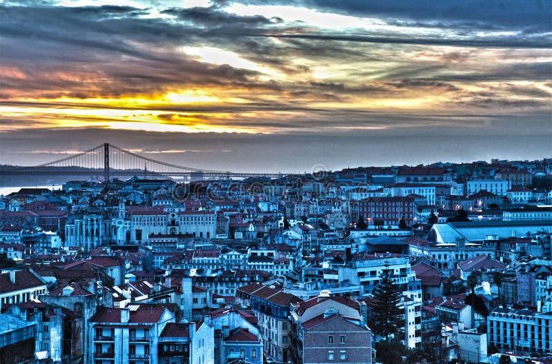 Όμορφη Λισσαβώνα στοκ φωτογραφία με δικαίωμα ελεύθερης χρήσης