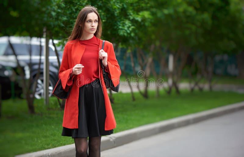 Όμορφη μελαχρινή νεαρή γυναίκα στοκ φωτογραφίες με δικαίωμα ελεύθερης χρήσης