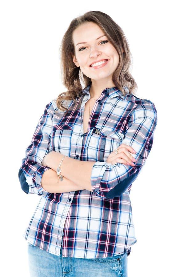 Όμορφη νέα γυναίκα στοκ εικόνα