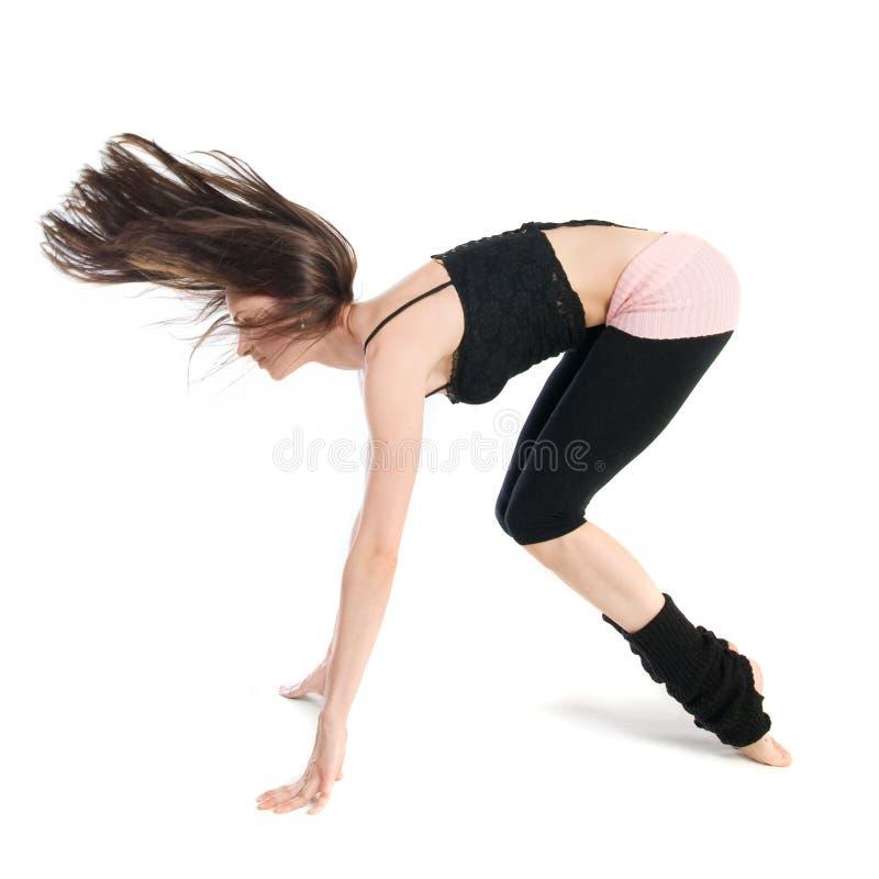 όμορφη να κάνει γυμναστική &k στοκ φωτογραφία με δικαίωμα ελεύθερης χρήσης