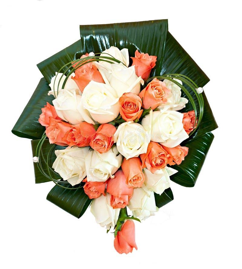 Όμορφη νυφική ανθοδέσμη σε μια δεξίωση γάμου, δέσμη των λουλουδιών. στοκ φωτογραφία με δικαίωμα ελεύθερης χρήσης