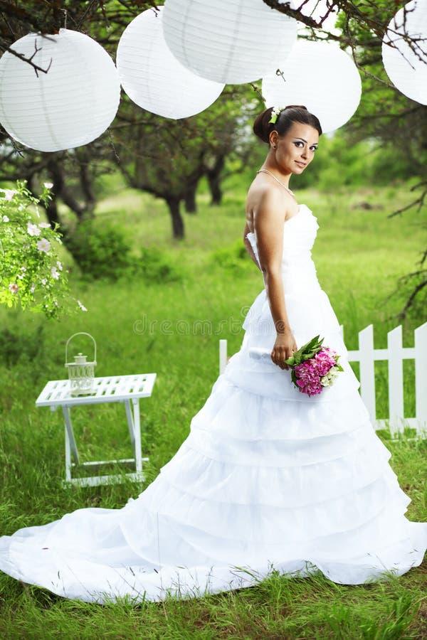 όμορφη νύφη στοκ εικόνα με δικαίωμα ελεύθερης χρήσης
