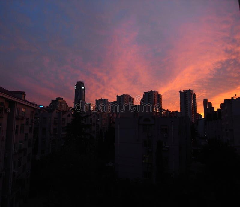 όμορφη νύχτα πόλεων στοκ φωτογραφίες με δικαίωμα ελεύθερης χρήσης