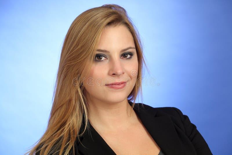 Όμορφη ξανθή γυναίκα Στοκ Εικόνα