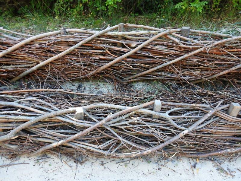 Όμορφη ξύλινη επιφάνεια, Λιθουανία στοκ εικόνες