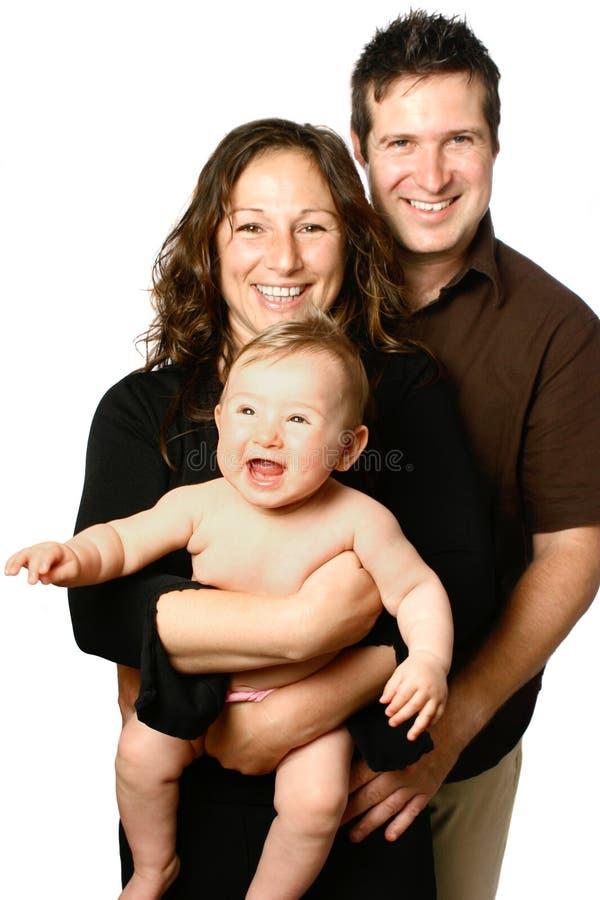 όμορφη οικογένεια συγκ&rho στοκ εικόνες με δικαίωμα ελεύθερης χρήσης