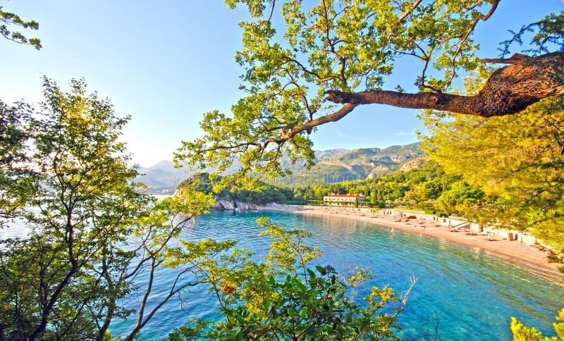 Όμορφη παραλία, Μεσόγειος (Ιταλία) στοκ εικόνα με δικαίωμα ελεύθερης χρήσης
