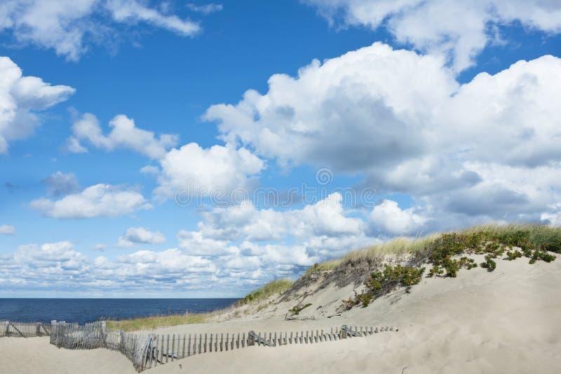 Όμορφη παραλία βακαλάων ακρωτηρίων, Provincetown, μΑ στοκ φωτογραφίες με δικαίωμα ελεύθερης χρήσης