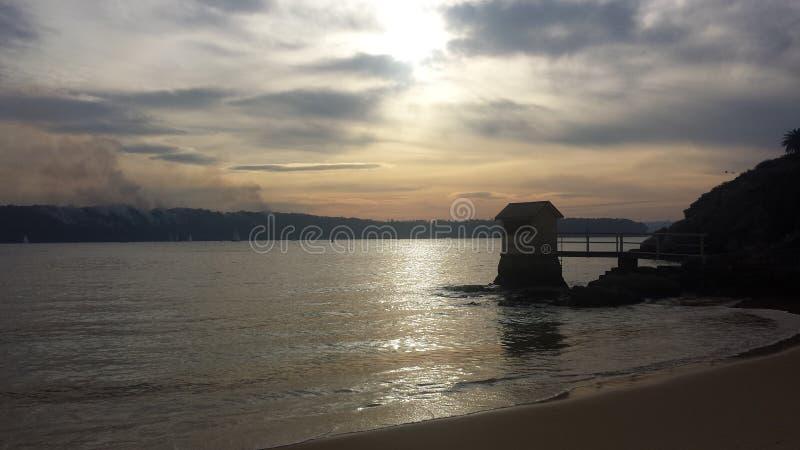 Όμορφη παραλία Σίδνεϊ στοκ φωτογραφίες με δικαίωμα ελεύθερης χρήσης
