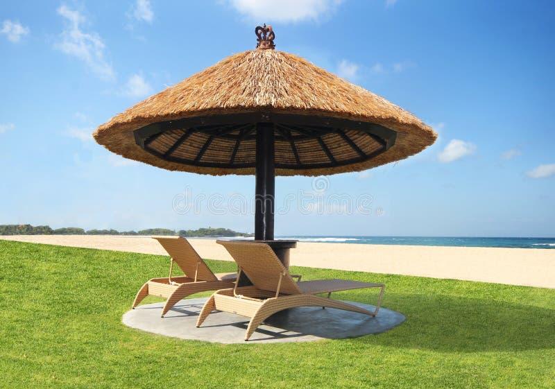 Όμορφη παραλία χωρίς ανθρώπους στοκ εικόνα με δικαίωμα ελεύθερης χρήσης