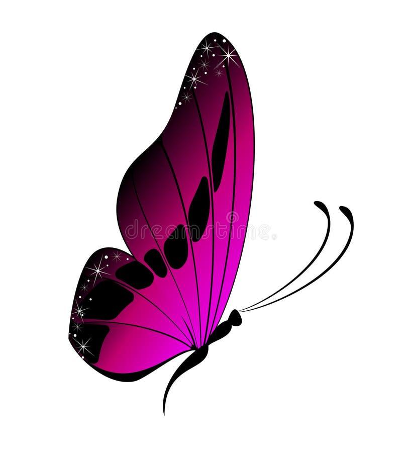 όμορφη πεταλούδα απεικόνιση αποθεμάτων