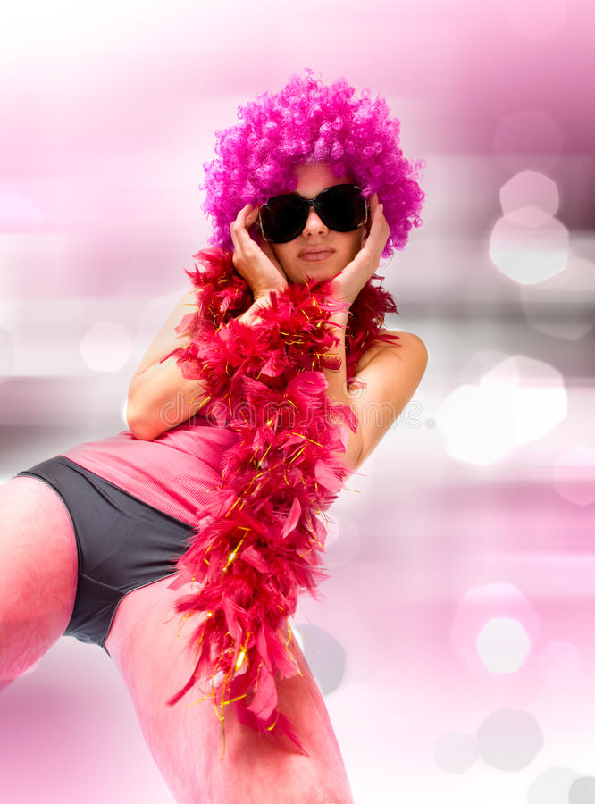 όμορφη σεξουαλική γυναί&kap στοκ φωτογραφία