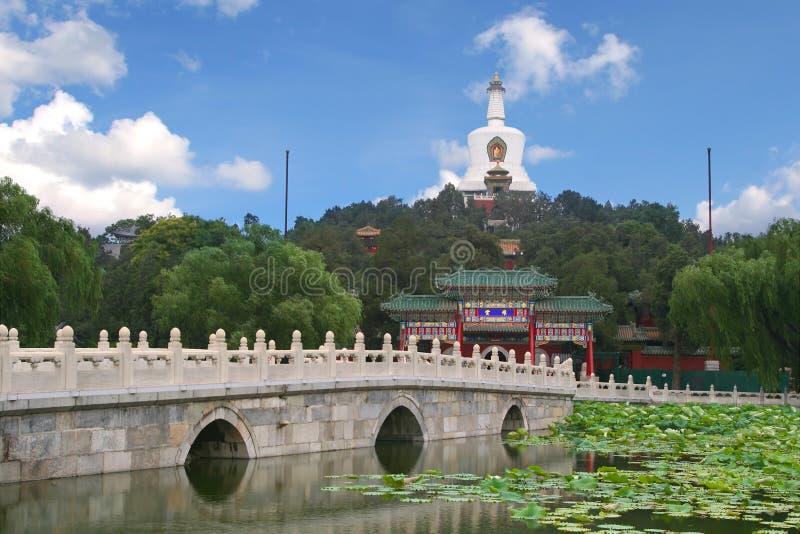 όμορφη σκηνή του Πεκίνου στοκ φωτογραφίες με δικαίωμα ελεύθερης χρήσης