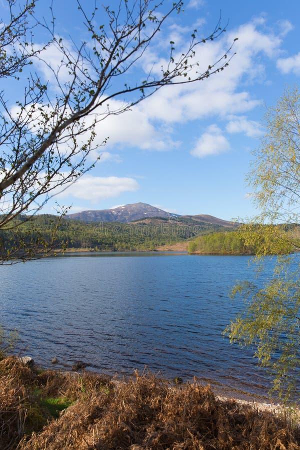 Όμορφη σκωτσέζικη λίμνη του Garry Σκωτία UK λιμνών στοκ φωτογραφίες με δικαίωμα ελεύθερης χρήσης