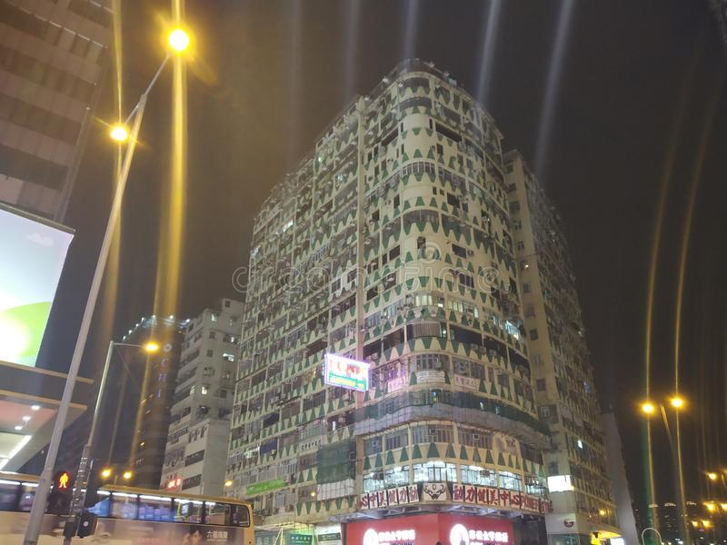 Όμορφη σύγχρονη ασιατική αρχιτεκτονική στοκ εικόνα
