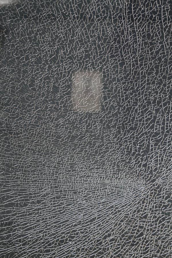 Όμορφη σύσταση του διαφανούς σπασμένου γυαλιού που φωτογραφίζεται στοκ εικόνες