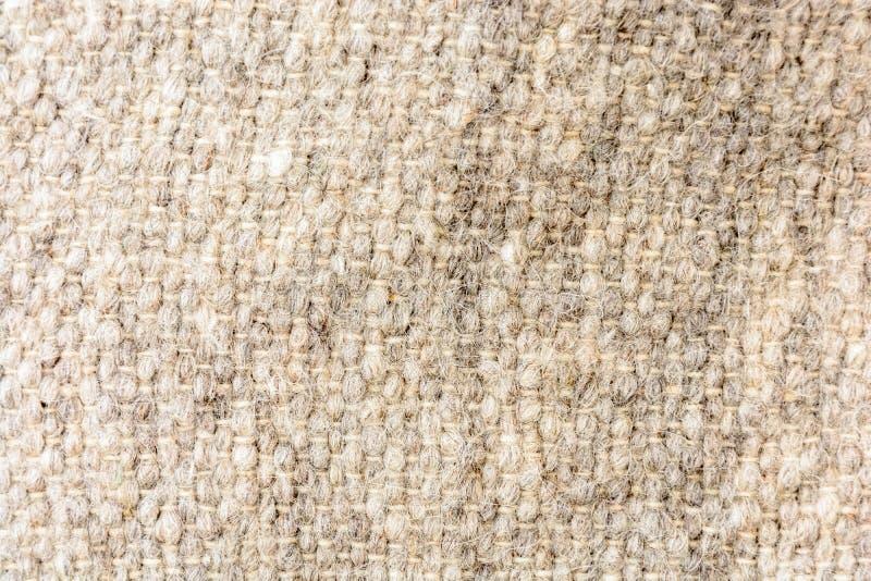 Όμορφη σύσταση sackcloth του υφάσματος, απλό υπόβαθρο, φυσικό φυσικό ύφασμα στοκ εικόνα με δικαίωμα ελεύθερης χρήσης