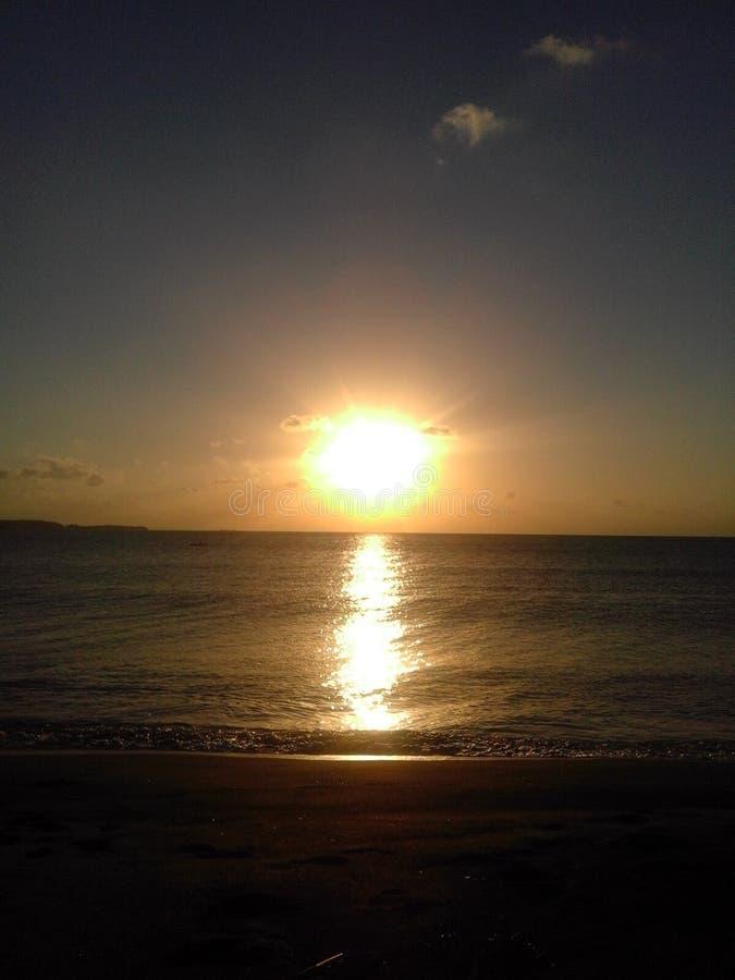 Όμορφη ταπετσαρία ηλιοβασιλέματος στοκ φωτογραφία