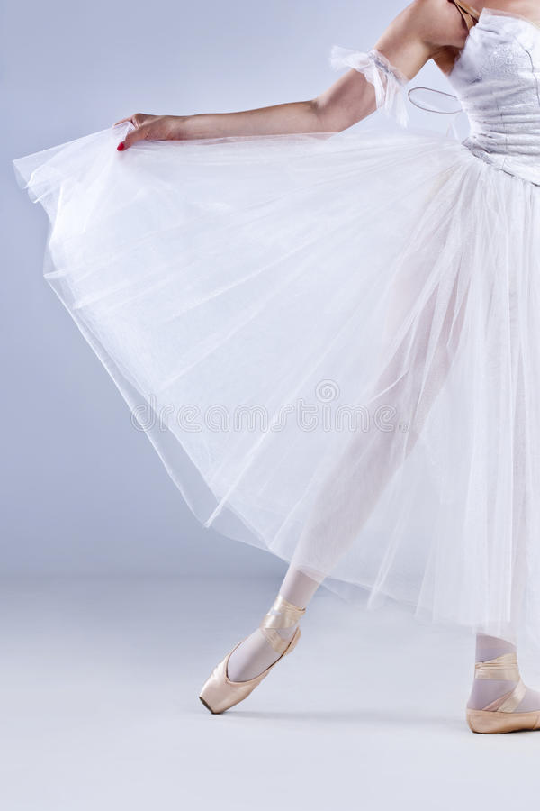 όμορφη τοποθέτηση ballerina στοκ φωτογραφία με δικαίωμα ελεύθερης χρήσης