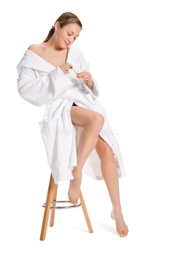όμορφη φρέσκια γυναίκα πορ στοκ φωτογραφία με δικαίωμα ελεύθερης χρήσης