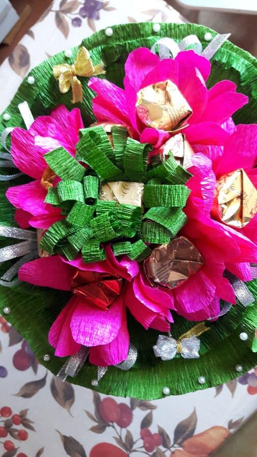 όμορφη φωτογραφία εγγράφου λουλουδιών πολύ στοκ εικόνα με δικαίωμα ελεύθερης χρήσης