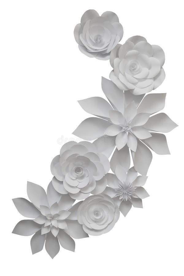 όμορφη φωτογραφία εγγράφου λουλουδιών πολύ στοκ φωτογραφίες με δικαίωμα ελεύθερης χρήσης
