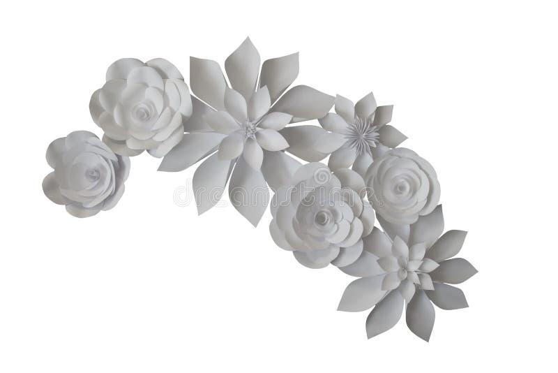 όμορφη φωτογραφία εγγράφου λουλουδιών πολύ στοκ φωτογραφία με δικαίωμα ελεύθερης χρήσης