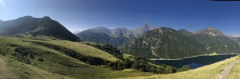 Όμορφη φύση βουνών στη Γαλλία στοκ εικόνα