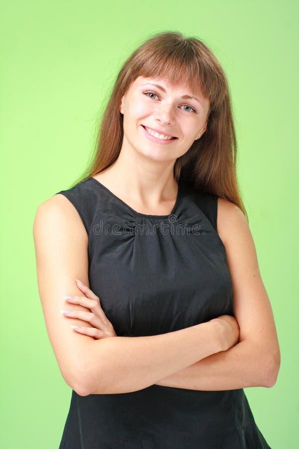 Download όμορφη χαμογελώντας γυν&alph Στοκ Εικόνα - εικόνα από makeup, κορίτσι: 13177933