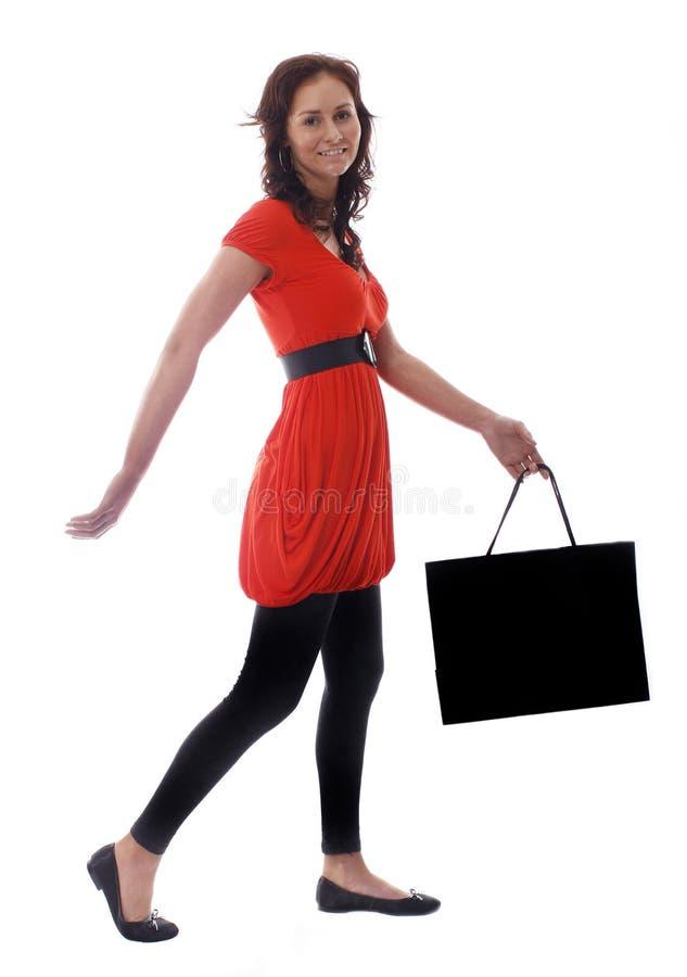 όμορφη ψωνίζοντας γυναίκα στοκ φωτογραφία με δικαίωμα ελεύθερης χρήσης