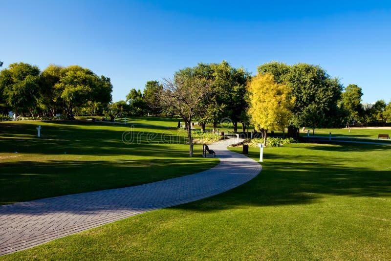 όμορφη όψη πάρκων στοκ φωτογραφία