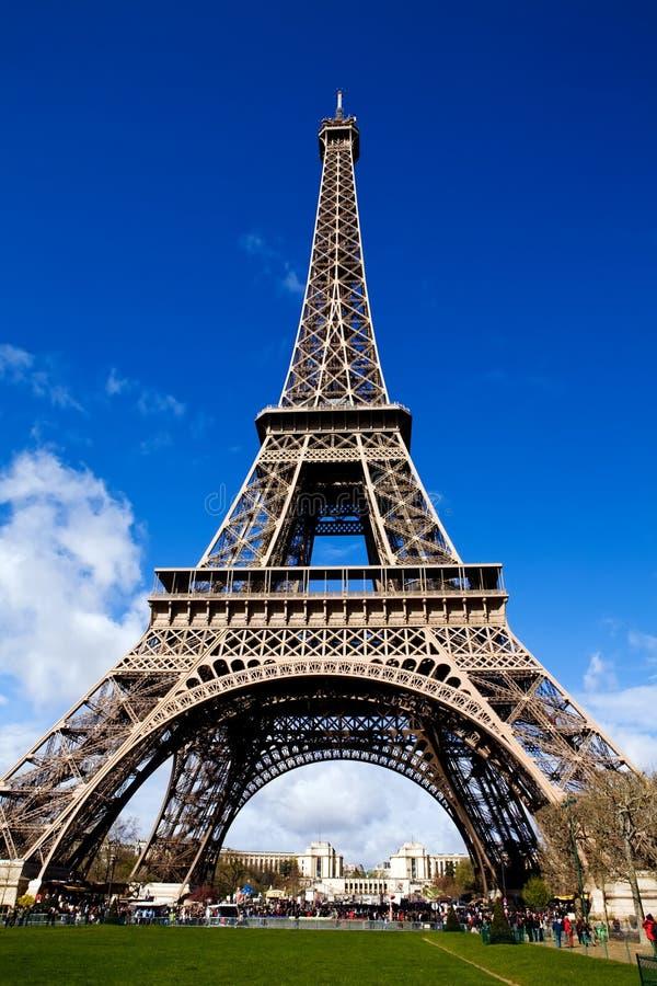 όμορφη όψη πύργων του Άιφελ Π& στοκ εικόνες