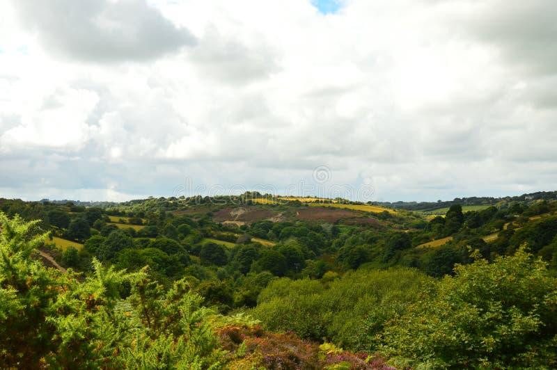 Όμορφη Cornish άποψη στοκ φωτογραφία με δικαίωμα ελεύθερης χρήσης