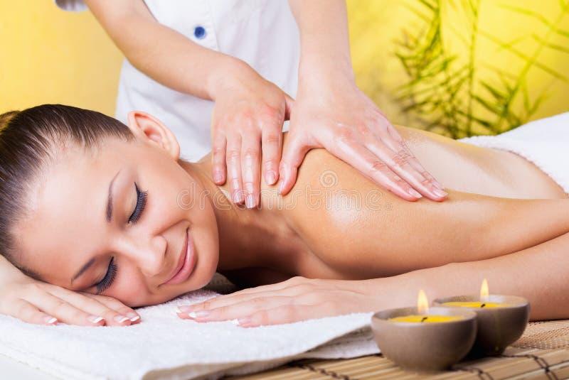 όμορφη salon spa γυναίκα στοκ εικόνες με δικαίωμα ελεύθερης χρήσης