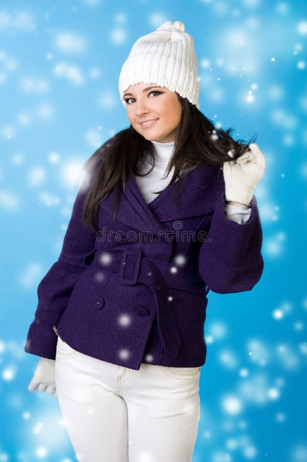 όμορφη snowflake μόδας χειμερινή γ&ups στοκ φωτογραφίες με δικαίωμα ελεύθερης χρήσης