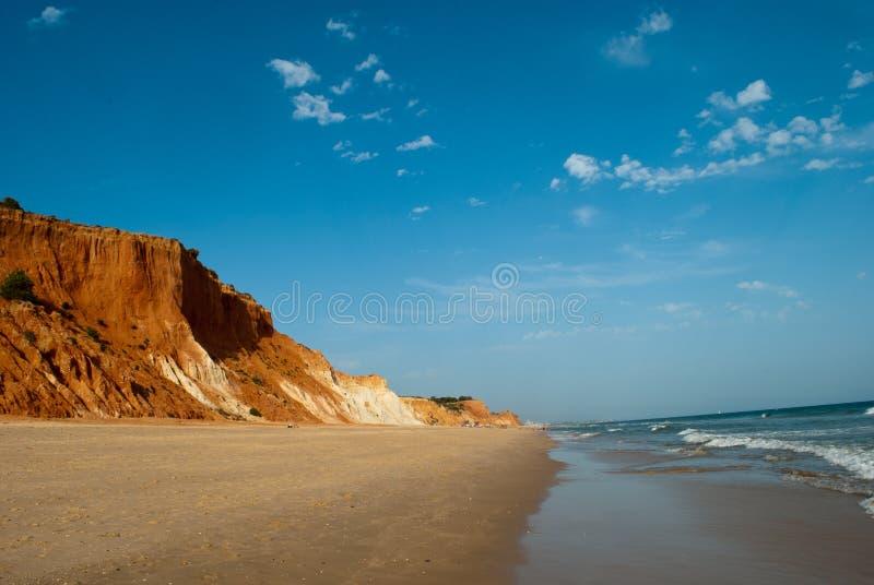 Όμορφοι ακτές και αμμόλοφοι στον Ατλαντικό Ωκεανό στοκ φωτογραφία