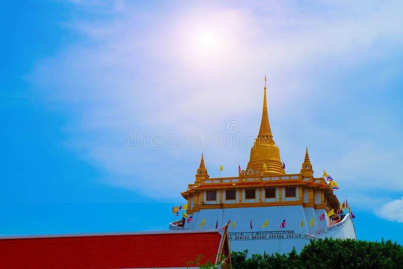 Όμορφοι ταϊλανδικοί ναοί στη Μπανγκόκ στοκ εικόνες με δικαίωμα ελεύθερης χρήσης