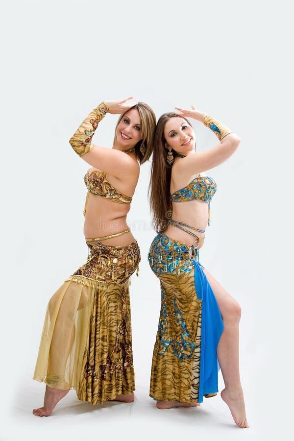 όμορφοι χορευτές δύο κο&iot στοκ φωτογραφία με δικαίωμα ελεύθερης χρήσης