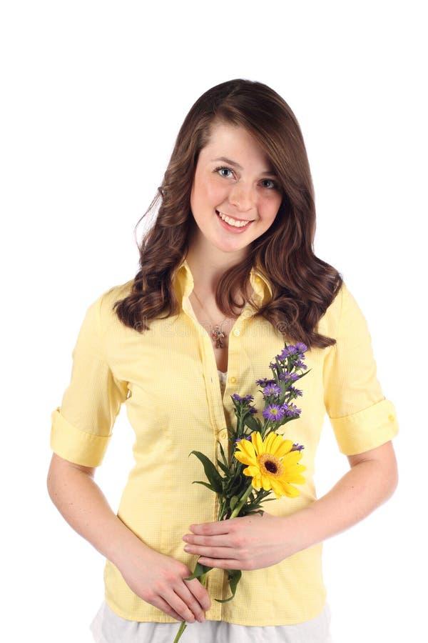 όμορφος έφηβος λουλου& στοκ φωτογραφίες με δικαίωμα ελεύθερης χρήσης