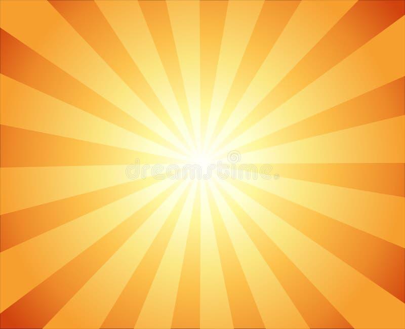 Όμορφος ήλιος με το τηλεοπτικό εκλεκτής ποιότητας υπόβαθρο ακτίνων ελεύθερη απεικόνιση δικαιώματος